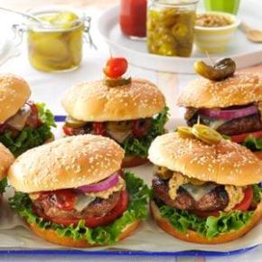 Southwestern Backyard Burger