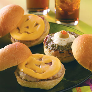 Ogre and Pumpkin Sliders